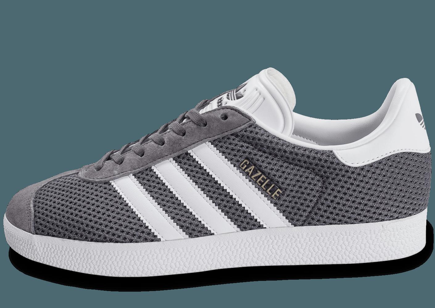 Vente de adidas gazelle grise clair Soldes