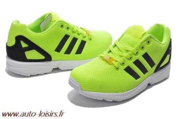Vente de adidas zx flux jaune femme Soldes