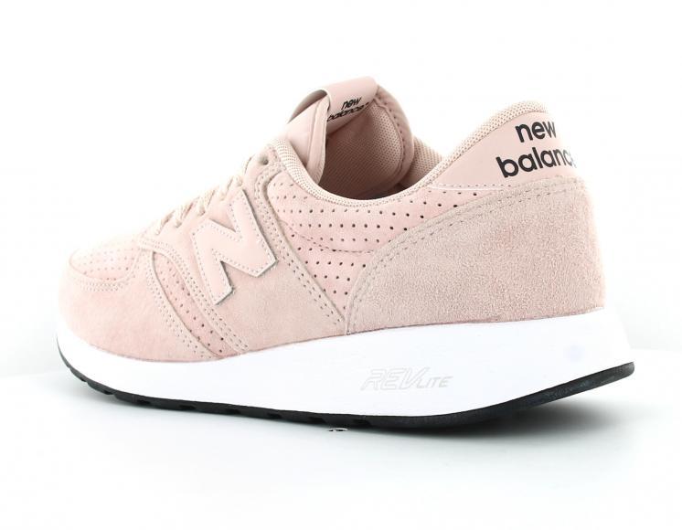 baskets femme new balance rose